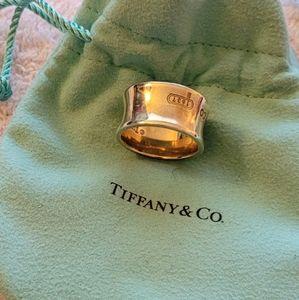 Tiffany and Co cigar band ring